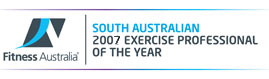 South Australian 2007 Personal Trainer of the Yea